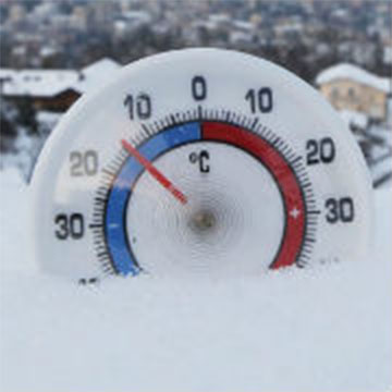 Frostiger Januar 2006