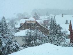 Frühling und es schneit weiter