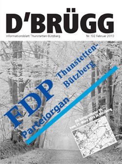 Dorfzeitung D'BRÜGG Parteiorgan der FDP?