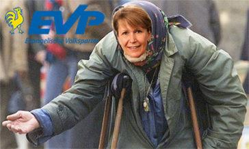 EVP Gemeinderätin Christine Grogg-Meyer bettelt Geld für KITA Bützberg